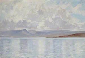 Cloud Reflections, Sea of Galilee