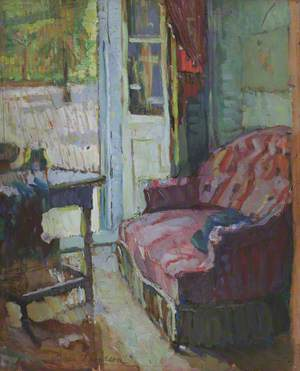 Interior with a Couch