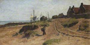 Coast Sketch, Buchanhaven, 14 August 1868