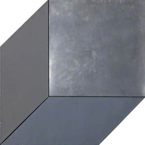 Grey and Aluminium (Oil and Aluminium I)