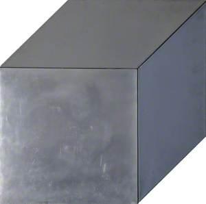Grey and Aluminium (Oil and Aluminium II)
