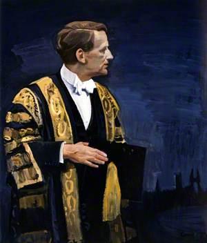 Douglas Douglas-Hamilton (1903–1973), 14th Duke of Hamilton, as Chancellor of the University of St Andrews