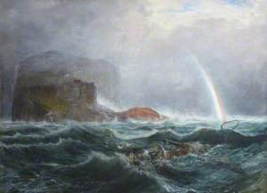 The Bass Rock after a Storm