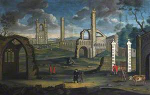 Capriccio View of the Ruins of St Andrews