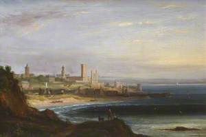 View of St Andrews from the East Sands