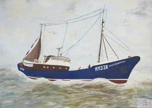 'Anna Christina' (KY338), at Sea