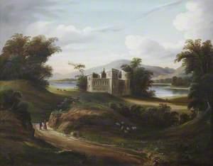 Castle Landscape with a River*