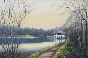 Boathouse at Moor Loch, Devilla Forest