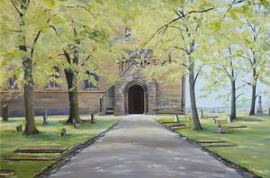 Dunfermline Abbey, North Park