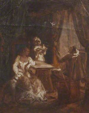Study for Figures by a Window