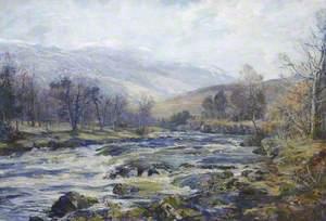 O River of Winter Sunshine, Ben Ledi