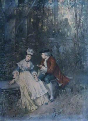 Lovers in the Garden