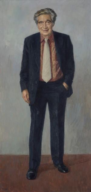 Professor Sir Moses Finley (1912–1986), FBA, Hon. LittD, Master (1976–1982)