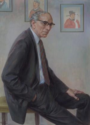 Professor Sir Arnold Burgen (b.1922), MD, FRCP, FRS, Master (1982–1989)