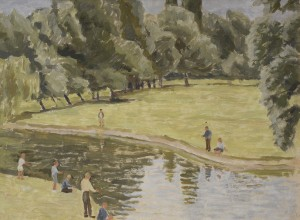 Figures by the River Cam*