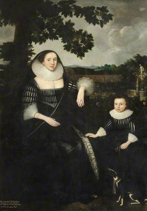 Lady Anne Cotton, née Hoghton, with Her Son, John (1615–1689)