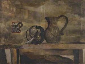 May 1927 (still life with knife and lemon)