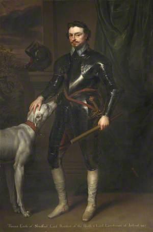 Thomas Wentworth (1593–1641), Earl of Strafford, MP, Lord Lieutenant of Ireland