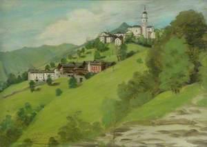 Landscape, Rimella, Val Mastellone