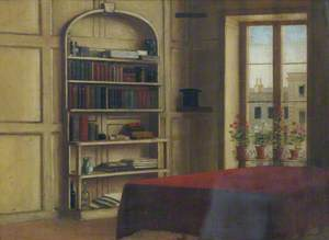 Interior of the Artist's Study at 15 Clifford's Inn, London