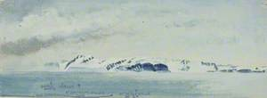 North Coast of Spitsbergen from Moffen Island