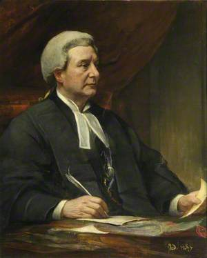 The Right Honourable Lord Justice Sir Robert Romer (1840–1918), PC, KC, GCB
