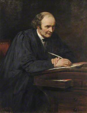 Arthur Cayley (1821–1895), Fellow and Mathematician, Sadlerian Professor (1863–1895)