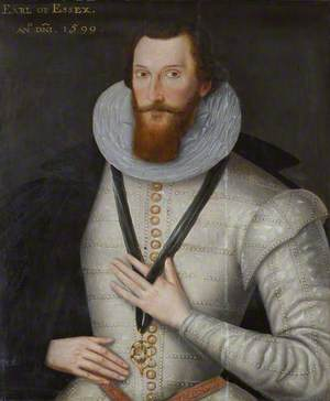 Robert Devereux (1566–1601), 2nd Earl of Essex, Soldier and Courtier