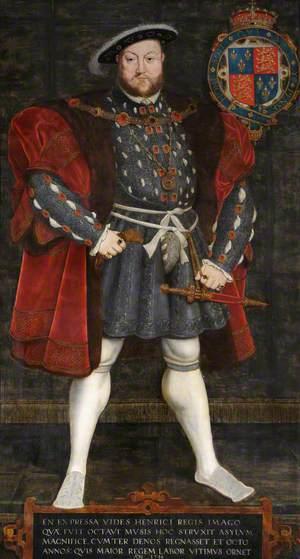 Henry VIII (1491–1547), Founder of Trinity College, Cambridge (1546)