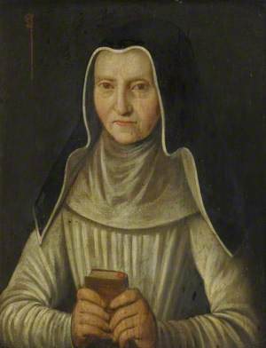 Portrait of an Unknown Lady with a Prayer Book