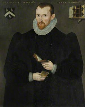Hugh Broughton (1549–1612), Fellow, Puritan Controversialist and Hebrew Scholar, Prebandary of Durham