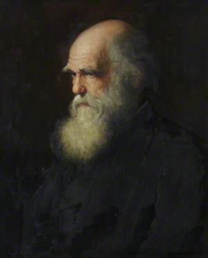 Charles Robert Darwin (1809–1882), Fellow-Commoner, Writer of 'The Origin of Species' (1859) and 'The Descent of Man' (1871)