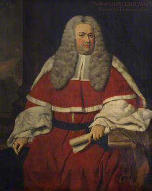 Sir Charles Clarke (1702–1750), Baron of the Exchequer (1743–1750)