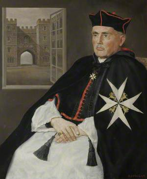 Canon Christopher Perowne, Sub-Prelate of the Most Venerable Order of the Hospital of St John of Jerusalem