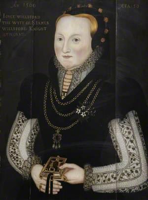 Joyce Wilford (d.1580), Wife of Sir James Wilford (d.1550)