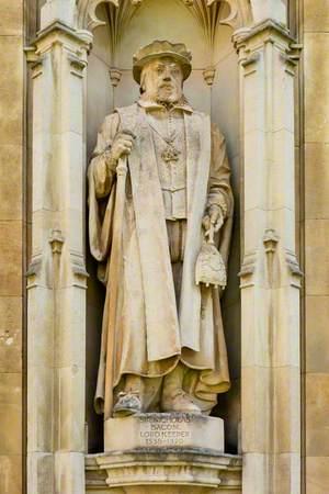 Sir Nicholas Bacon (1509 –1579), Lord Keeper (1558–1579)