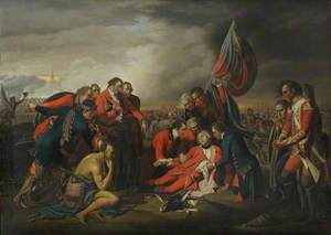 The Death of General Wolfe at the Battle of Quebec