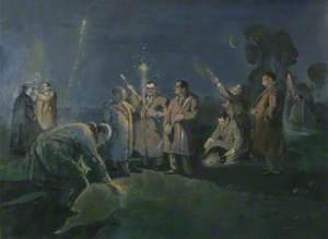 Gordon Square Club's Pyrotechnic Meeting