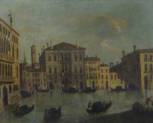A View of a Palazzo