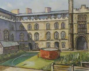 New Court, Corpus Christi, Cambridge in Wartime