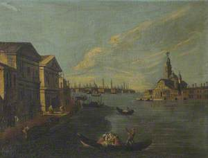 St Mark's from the Mouth of the Grand Canal