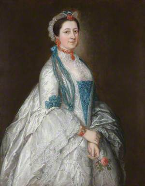 Lady Margaret Downing, Wife of Sir Jacob Downing, 4th Bt