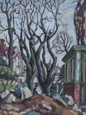 Porch and Trees, Bolton