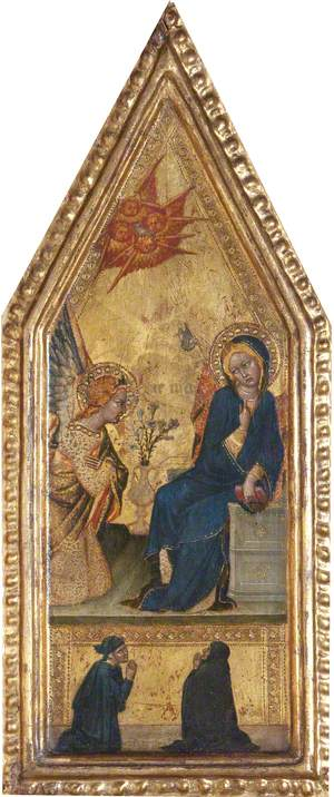 A Scene from the Life of the Virgin: The Annunciation