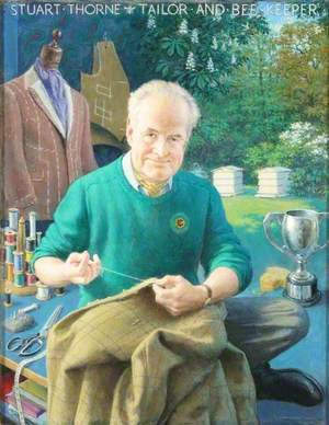 Stuart Thorne, Tailor and Beekeeper