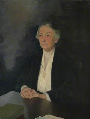 Blanche Athena Clough, Newnham College (1884), Principal (1920–1923)