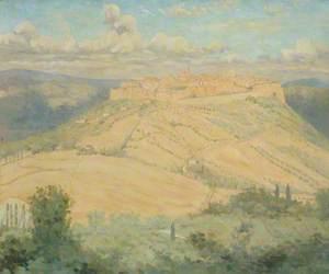 A Hill Town (Orvieto?)