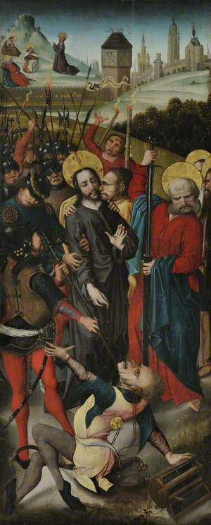 Betrayal of Christ, with the Agony in the Garden