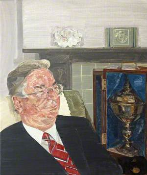 Professor Sir David Williams (1930–2009), President of Wolfson College (1980–1992)
