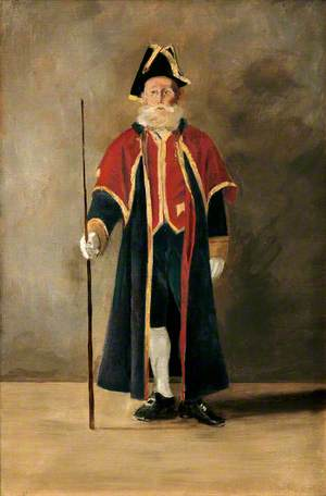 Beadle to Charles Hawkins Hext (1851–1917), When Mayor of Bodmin (1894–1895)